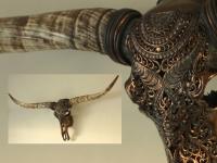 Longhorn goud brons