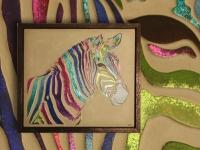 Zebra multicolor Pan073