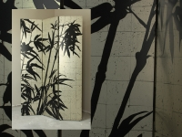Room Divider Bamboe