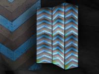kamerscherm-heringbone-turquoise