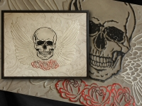 wandpaneel-skully-skull-and-paisley